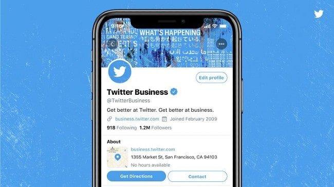 Twitter perfil profesional