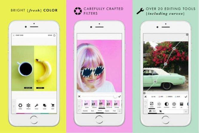 A Color Story app para editar vídeos