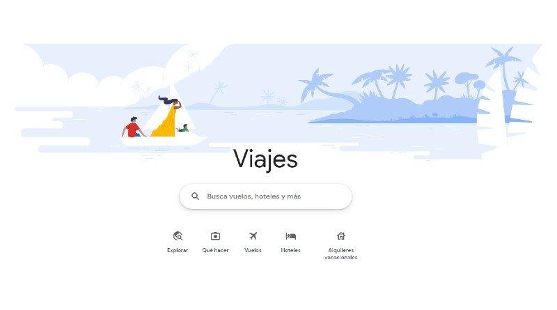Google Viajes, organiza un viaje