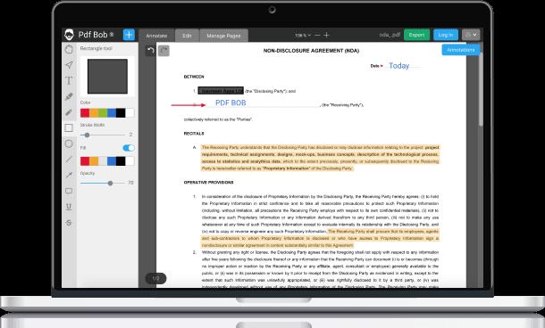 Aplicaciones para editar PDF