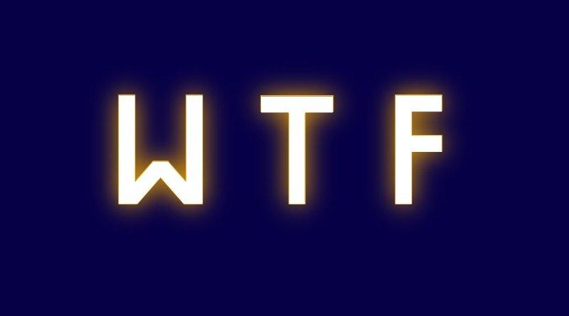 Qué significa WTF