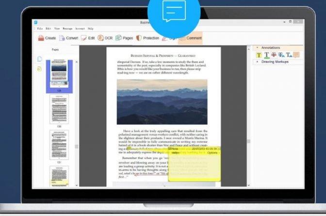 ApowerPDF editor de PDF