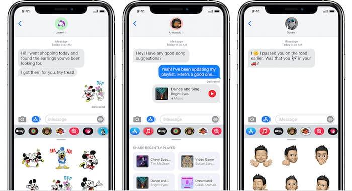 Mensajes de Apple