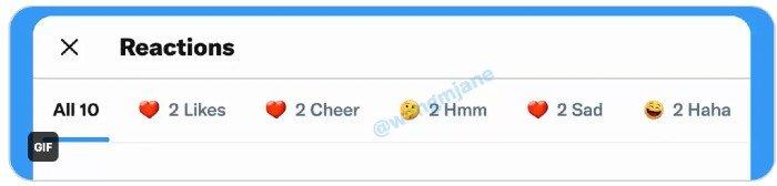 Emojis reacciones Twitter