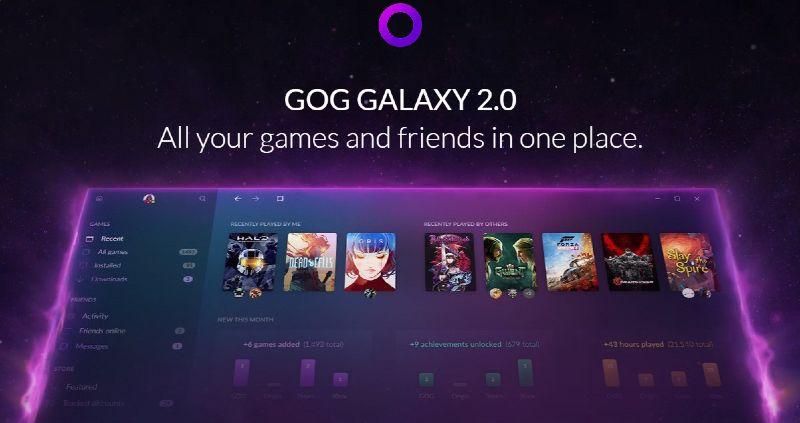 GOG Galaxy para bajar juegos de PC