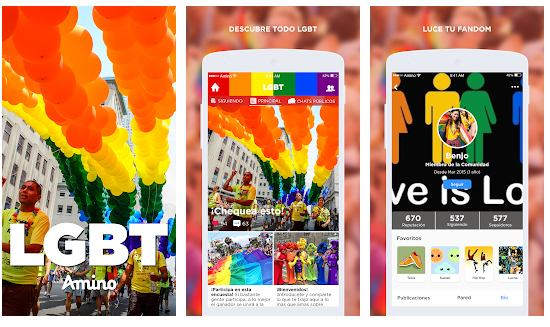 Apps LGBT+ para el mes del orgullo