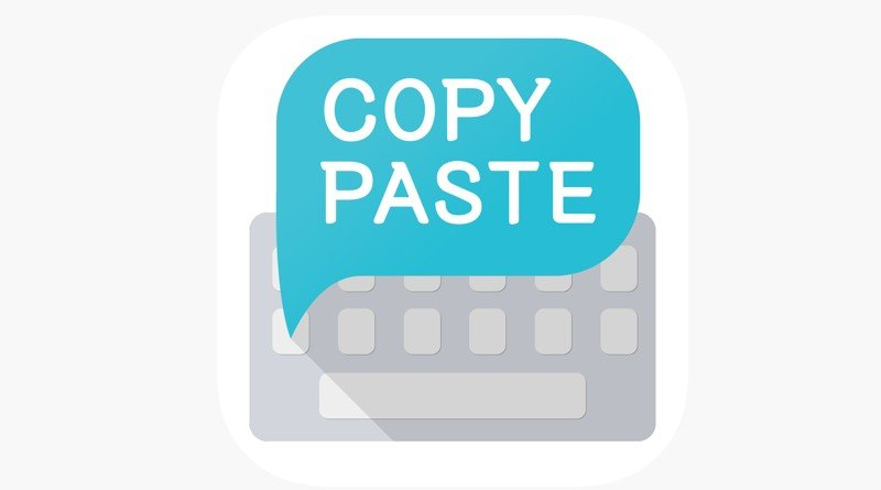 App paste keyboard