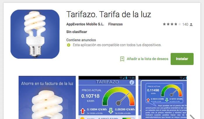 App Tarifazo