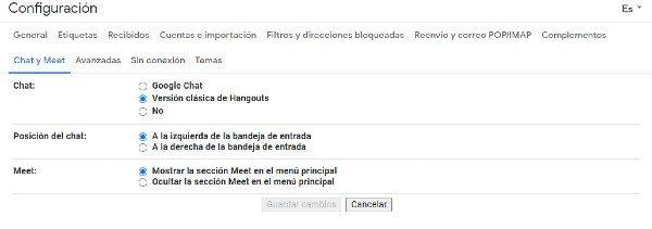 Google Chat Gmail