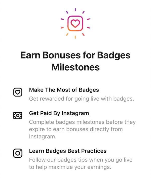 Instagram Bonus