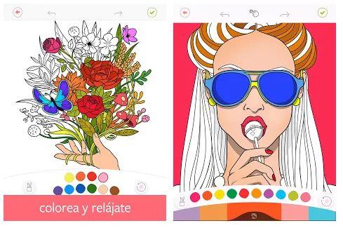 Colorfy apps para colorear