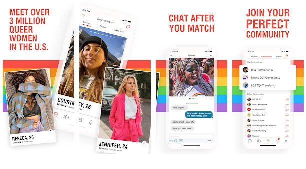 App para conocer gente en verano, HER app
