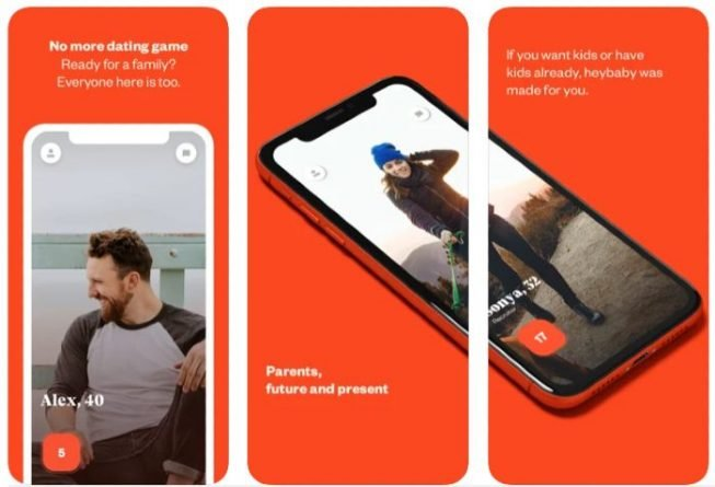 HeyBaby app para conocer gente con hijos