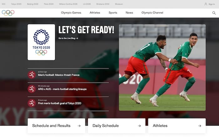Web Olympics