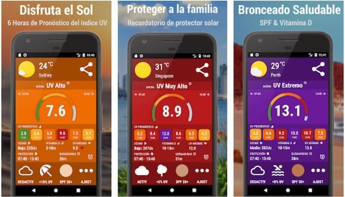 UV app