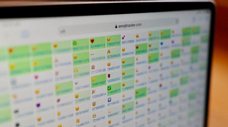 Emojitracker emojis