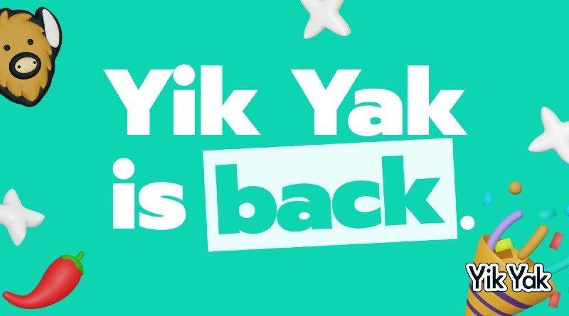 Yik Yak app