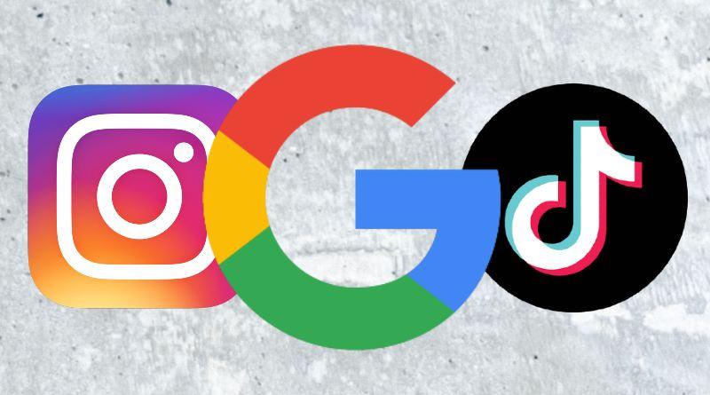 Google está trabajando para indexar los vídeos de Instagram y TikTok
