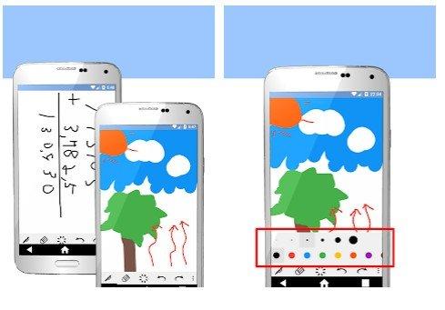 Libreta de escritura a mano, app de Android para escribir a mano