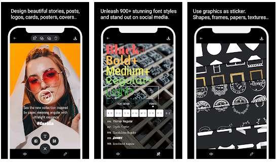 Texty, imagen de ilustración, apps para poner texto en fotos