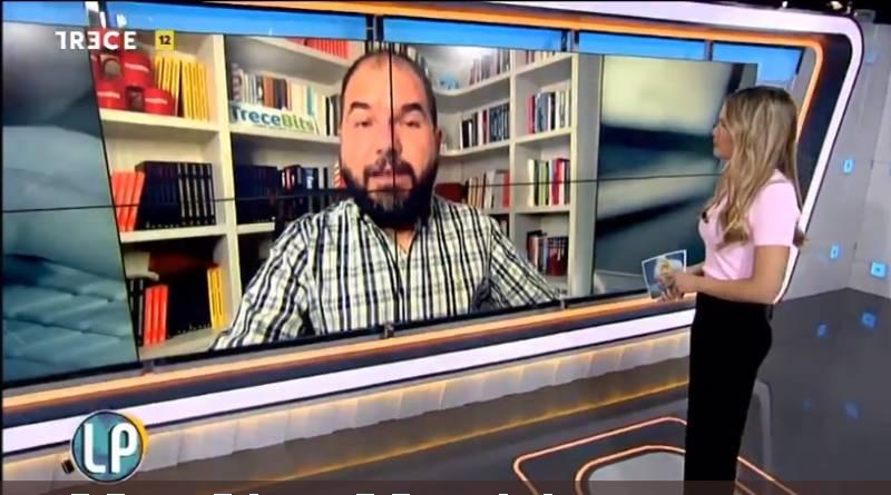 Entrevista en Trece TV