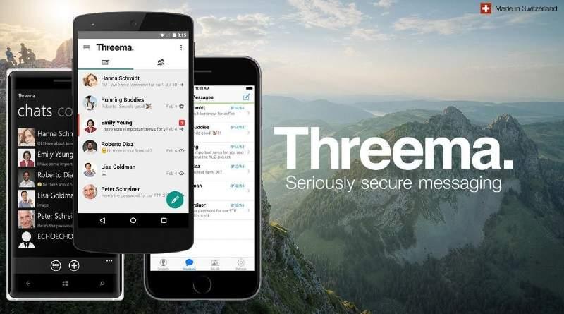 Threema App de mensajería
